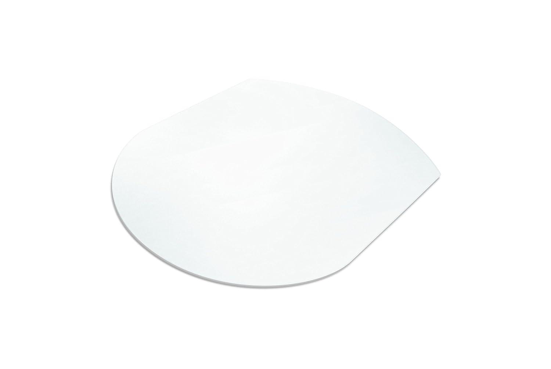Certificazione T/ÜV trasparente 110 x 120 cm Farbe: Transparent 16 misure e forme a scelta Tappetino di protezione del pavimento assolutamente ecologico Ecogrip/® per pavimenti duri