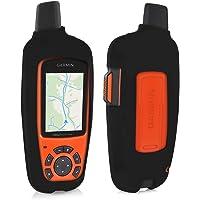 kwmobile Case for Garmin inReach Explorer - GPS Handset Navigation System Soft Silicone Skin Protective Cover - Black