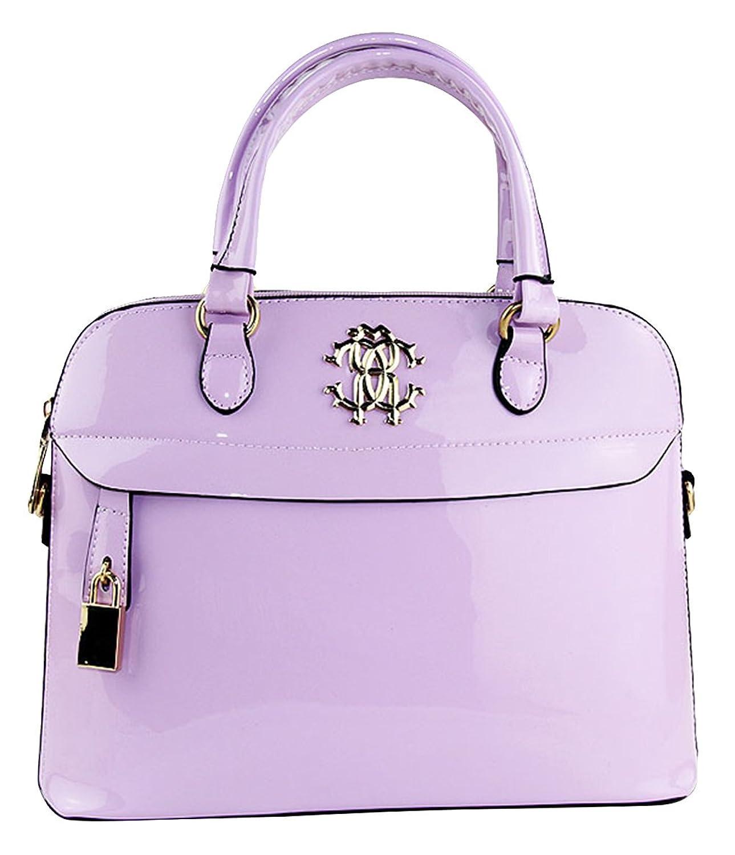 Ubasics Women's Zip Carrier Handbag Purple One Size