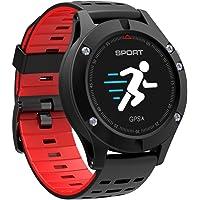 Relógio Smartwatch F05 Gps Monitor Cardíaco (Vermelho)