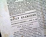 Rare CONFEDERATE CAPITAL w/Robert E. Lee Letter