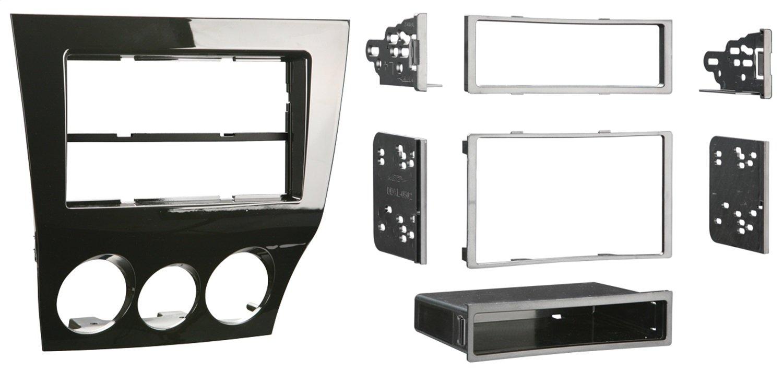 Metra 99-7515HG Double Din Radio Provision 2009-10 Mazda RX8 Kit (Black) Metra Electronics Corporation