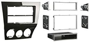Metra 99-7515HG Mazda RX-8 2009-Up Installation Dash Kit for Single or Double DIN/ISO Radios