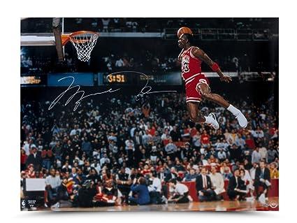 f08e5bb598e Image Unavailable. Image not available for. Color  Michael Jordan  Autographed ...