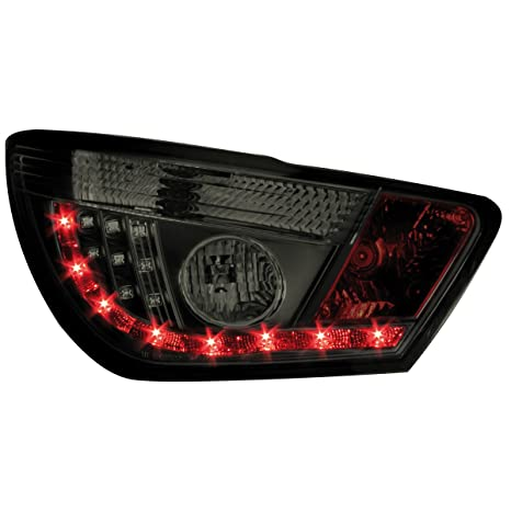 Dectane RSI09LBS Montaje de Luces Traseras LED, Color Negro