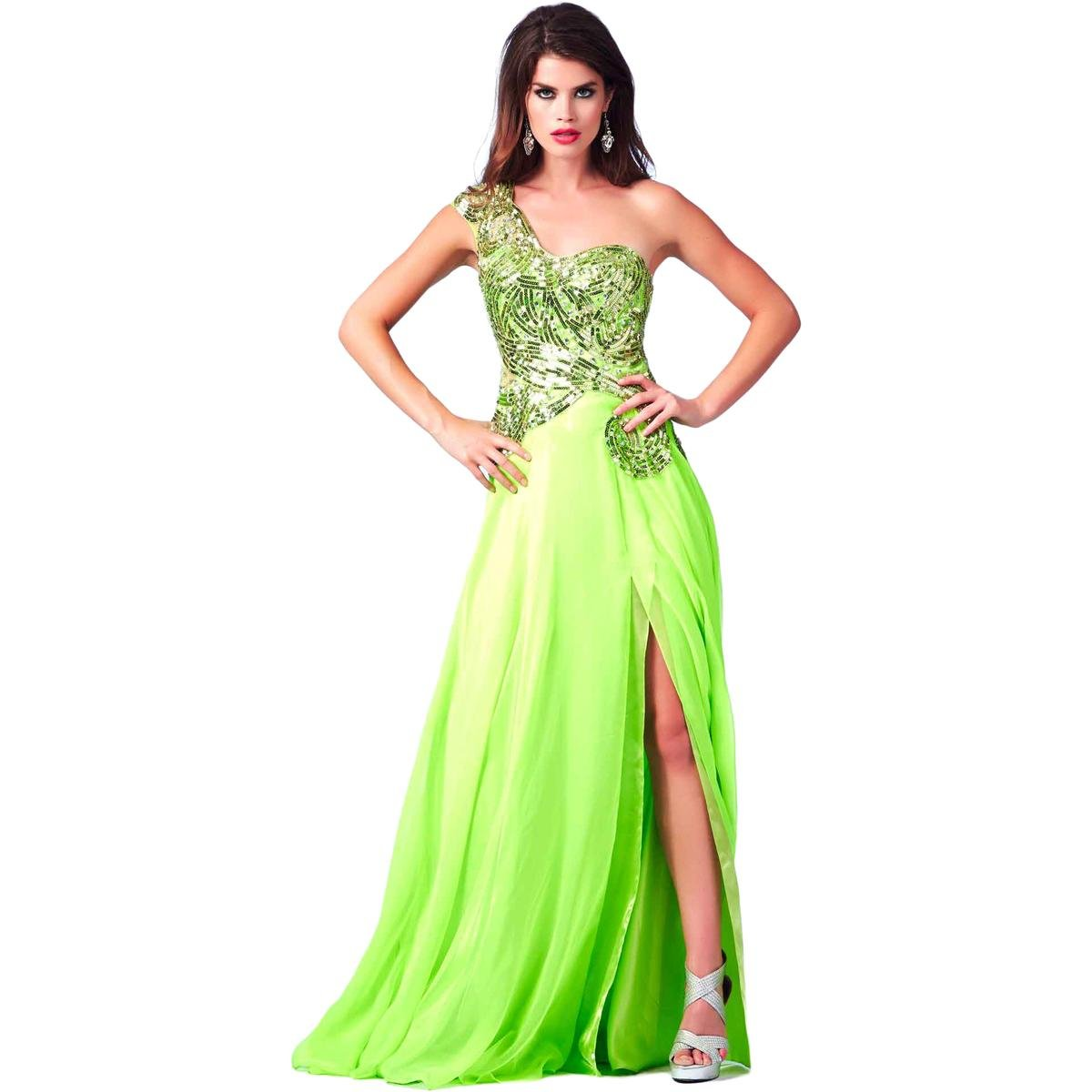 870096afc50 Amazon.com  Cassandra Stone by Mac Duggal Womens Chiffon Embellished Formal  Dress  Clothing