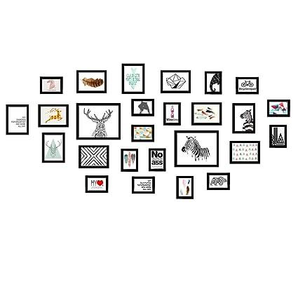 DZW Muro de fotos Madera maciza Simple Muy grande Sin uñas Estilo ...