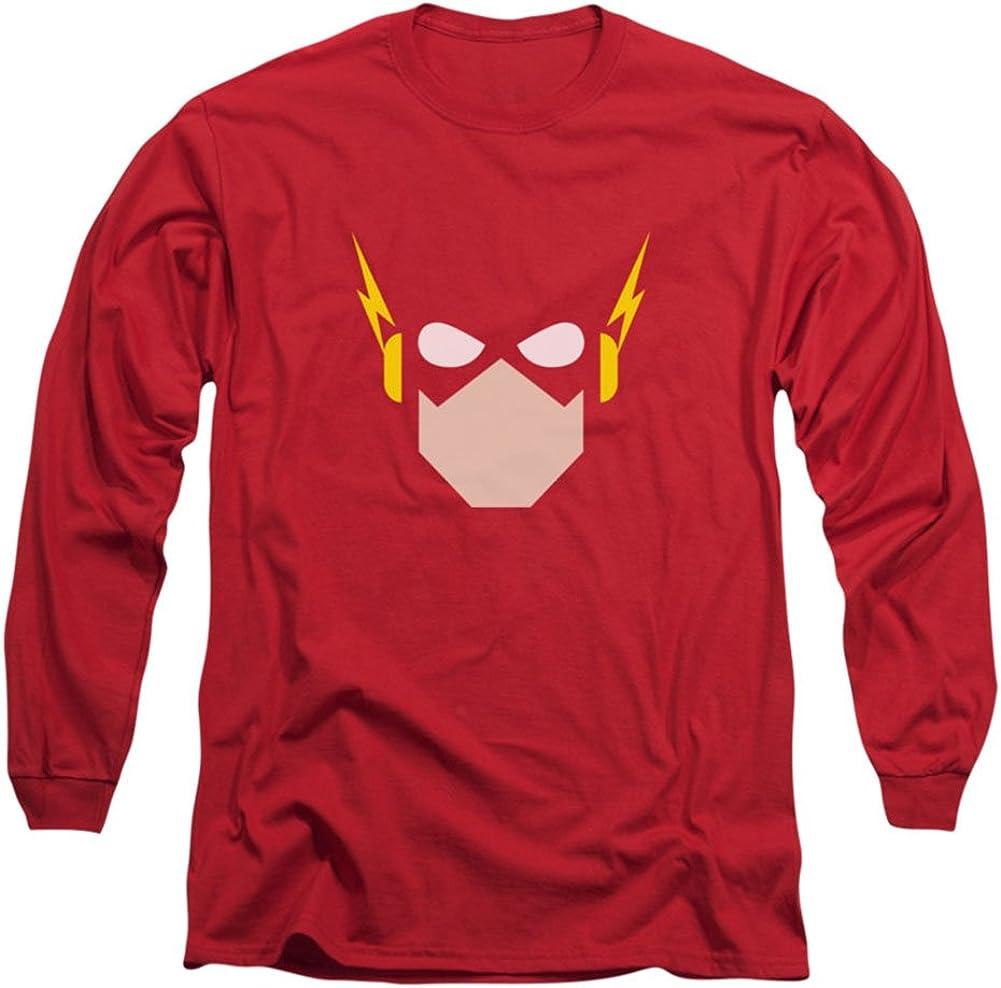 FLASH LOGO Licensed Adult Long Sleeve T-Shirt S-3XL