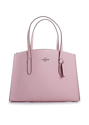 6c2b31ad0e81a COACH Women's Polished Pebble Leather Charlie Carryall Blossom/Silver One  Size