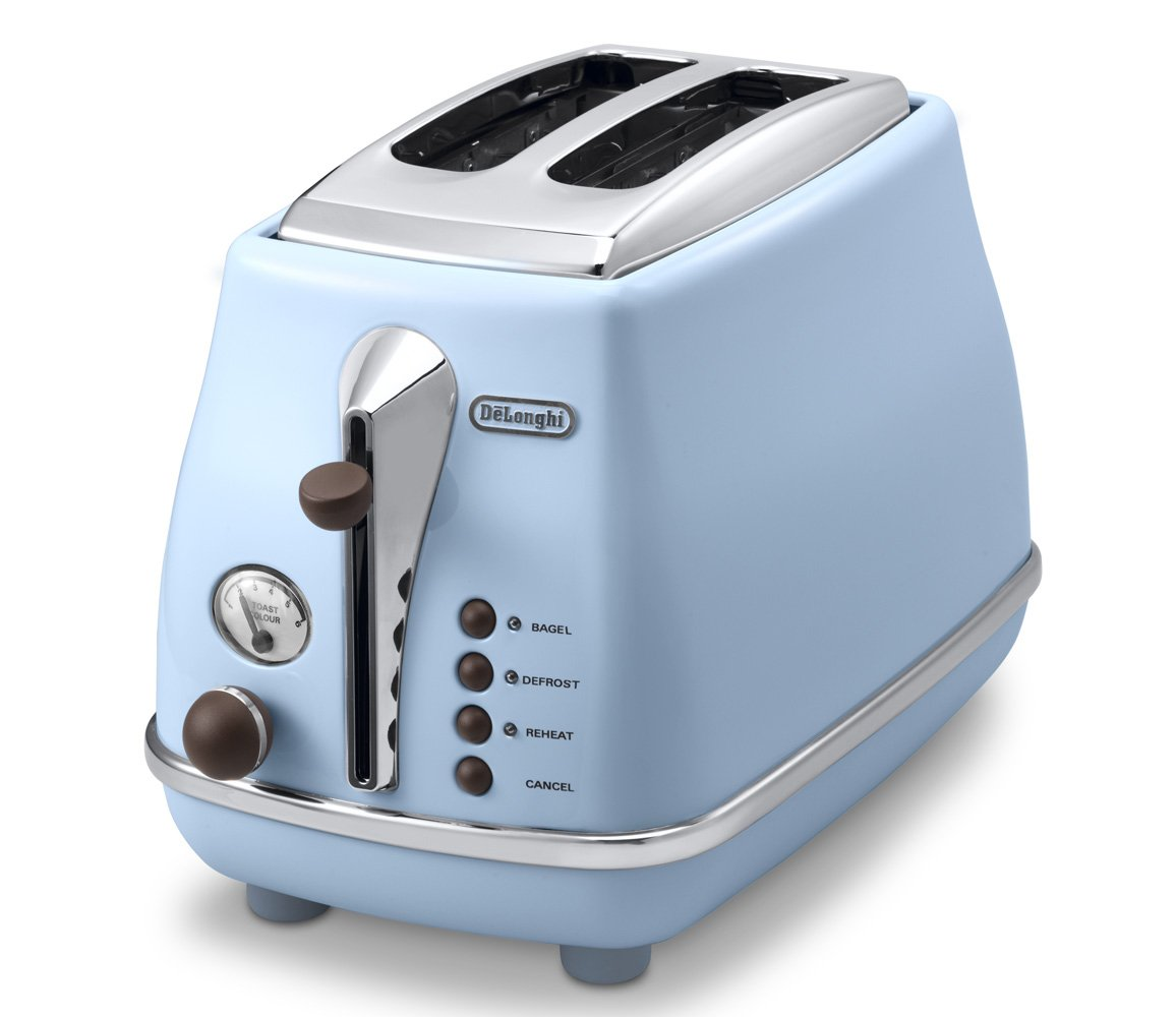 DeLonghi Pop-up toaster ?ICONA Vintage Collection?CTOV2003J-AZ (Azzurro Blue)?Japan Domestic genuine products?