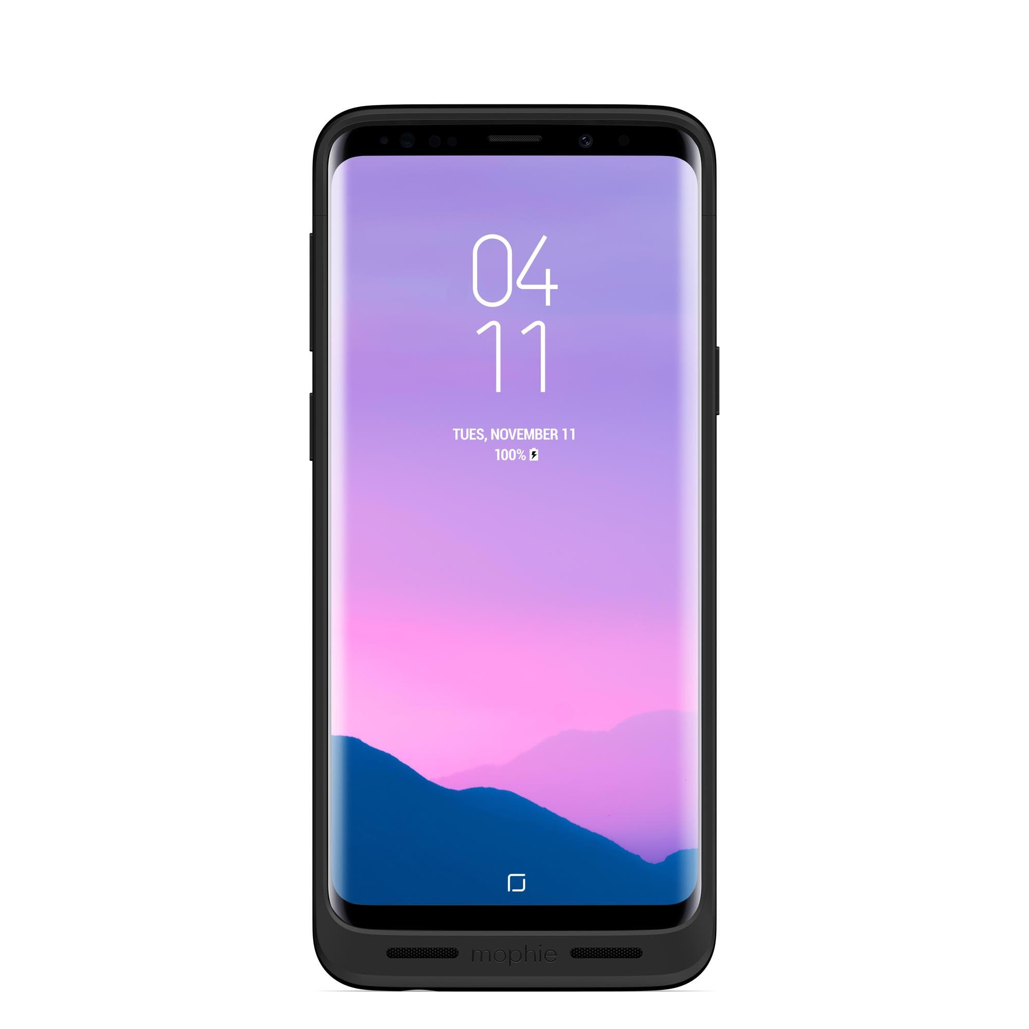 Juice Pack Made for Samsung Galaxy S9 - Wireless Charging Battery Case - Black by mophie (Image #3)