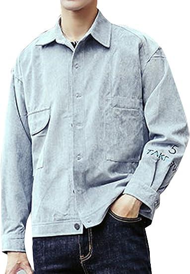 (ネルロッソ) NERLosso ブルゾン メンズ コーデュロイ ジャンパー スタジャン 大きいサイズ ミリタリージャケット ライダースジャケット 正規品 cmn24172