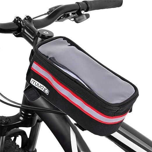 JYSL Bolsa De Bicicleta Impermeable Bolsa De Bicicleta De Nylon ...