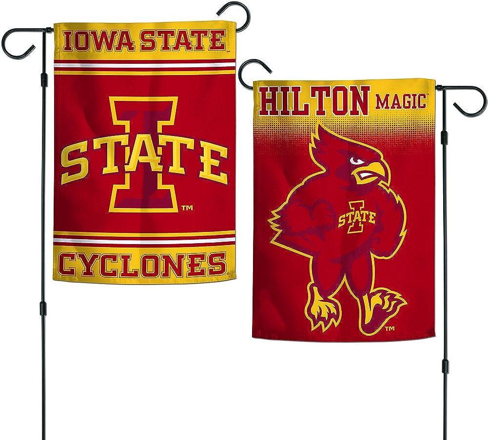 """Elite Fan Shop NCAA 2 Sided Garden Flags 12.5"""" x 18"""""""