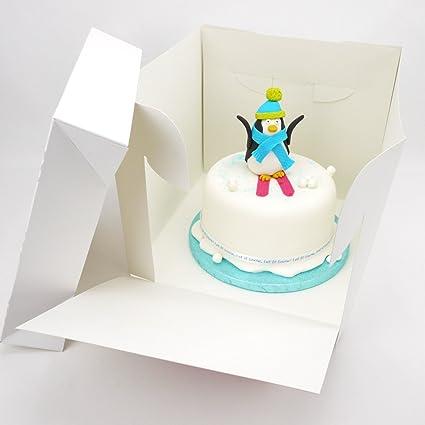 Super 9 X 8 Inch Tall Stacked Cake Box 1 Amazon Co Uk Kitchen Home Funny Birthday Cards Online Inifofree Goldxyz