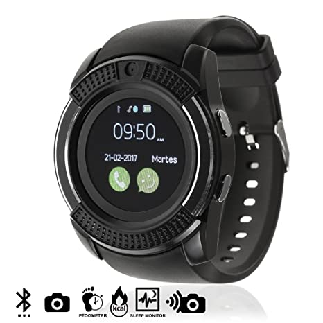DAM TEKKIWEAR. DMV023BLACK. Smartwatch Bluetooth con Sim ...