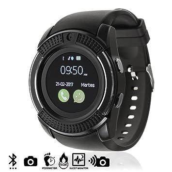 DAM TEKKIWEAR. DMV023BLACK. Smartwatch Bluetooth con Sim, Micro SD ...