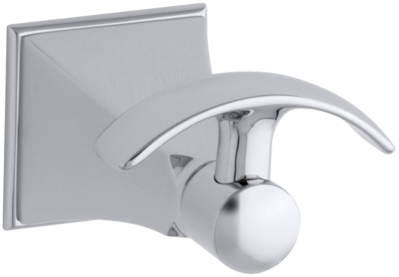 KOHLER K-492-CP Memoirs Robe Hook with Stately Design, Polished Chrome