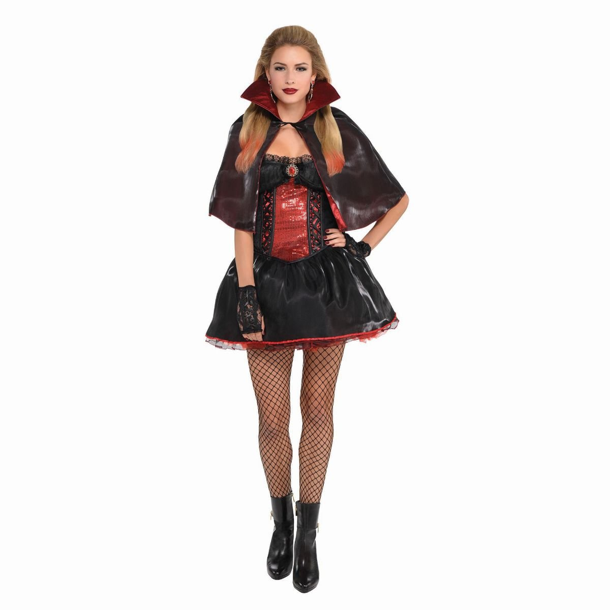 Dark Vamp Costume Größe 14-16