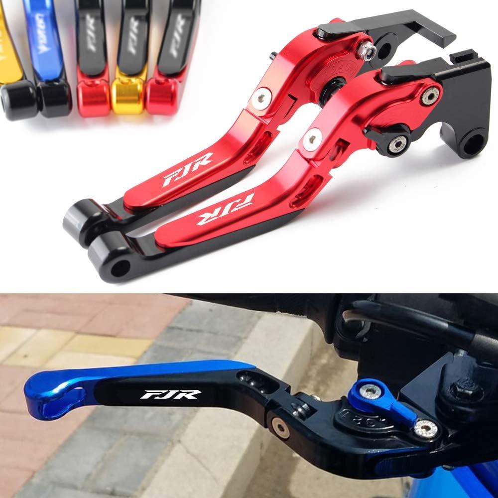 Motorrad Falten ausziehbare Bremse Kupplungshebel Bremskupplungshebel CNC Aluminum passend f/ür Yamaha FJR 1300 FJR1300 2003 2004-2017