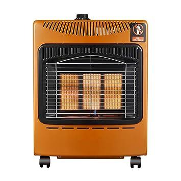 Radiador eléctrico MAHZONG Estufa para Asar a la Parrilla de Gas licuado al Aire Libre Ahorro de energía y movible -2000W: Amazon.es: Hogar