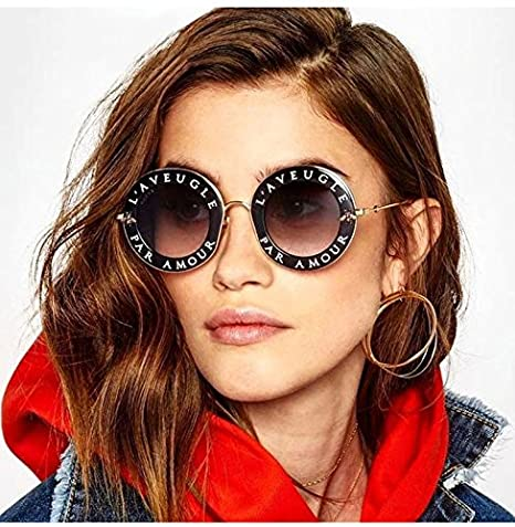 Amazon.com: Casual Fashion Eyewear Mujer Vintage Bee letras ...