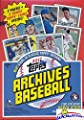 2017 Topps Archives Baseball EXCLUSIVE Factory Sealed Retail Box with DEREK JETER INSERT & BONUS PACK of 2 Topps Coins! Look for Autographs of Aaron Judge,Mike Trout,Sandy Koufax,Jeter & More! WOWZZER