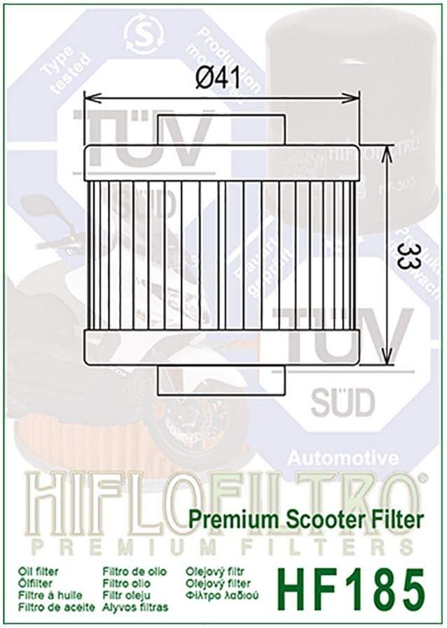 /Ölfilter Hiflo Satelis 125 J2A 04-12