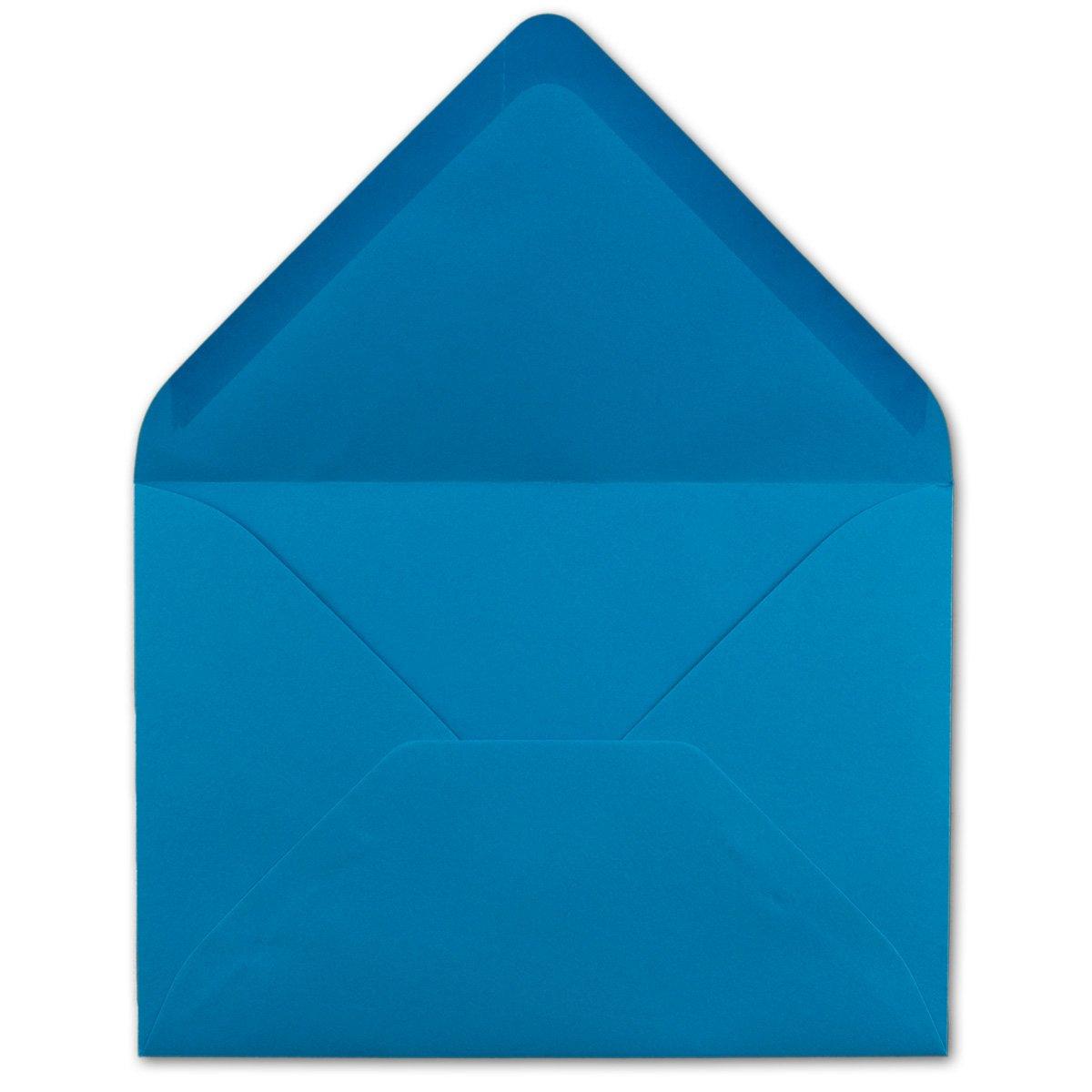200x Brief-Umschläge in Dunkel-Grün - 80 g m² - KuGrüns KuGrüns KuGrüns in DIN B6 Format 125 x 175 mm - Nassklebung ohne Fenster - Qualitätsmarke FarbenFroh® B07B3QGQC2 | Ich kann es nicht ablegen  80550c