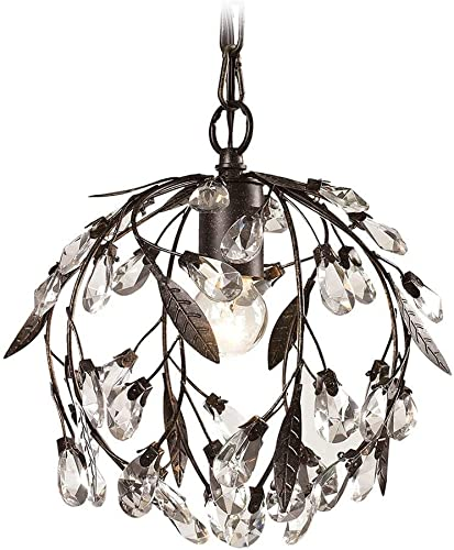 ELK Lighting 18133-1 18133 1 Circeo Collection 1 Light Mini Pendant, 10 x 10 x 10 , Deep Rust