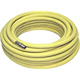 "Goodyear 50' x 3/8"" Rubber Air Hose Yellow 250 Psi"