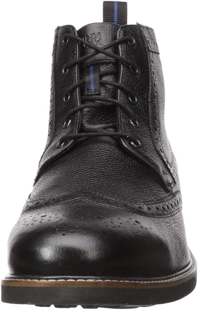 Nunn Bush Mens Odell Wingtip Boot with KORE Walking Comfort Technology