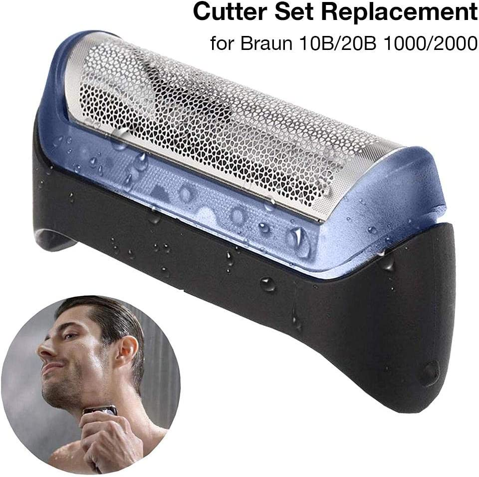 Piezas de repuesto de cabezales de afeitadora eléctrica para la maquinilla de afeitar Braun serie 3 compatible con los modelos 10B 110120140170180190 1735 1775 130S-1 140S-1 170S-1 5684 5685 5727 5730: Amazon.es: Hogar