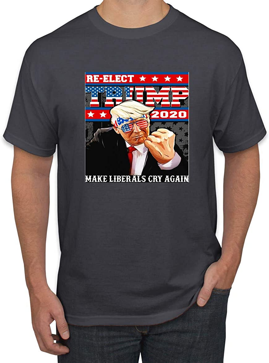 Wild Bobby Reelect Trump 2020 Election Funny USA Action Pose   Mens Political Graphic T-Shirt