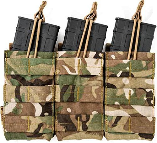 Tiberius Arms Triple Open M4 Mag Pouch - TriCam