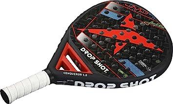 Drop Shot - Raqueta de pádel | Conqueror 5.0: Amazon.es: Deportes ...