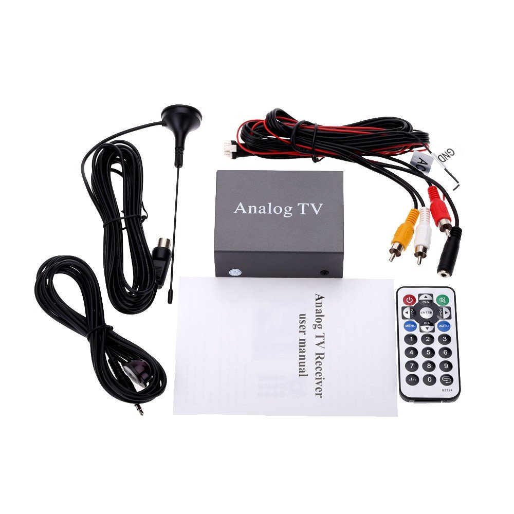July King Car Mobile Analog TV Receiver Car Automobile TV Receiver Hot Style JK-9224 by July King