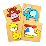 DreamsEden Wooden Jigsaw Puzzles for Toddlers