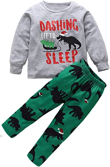 puseky Conjunto de Pijamas para niños y bebés Estampado de ...