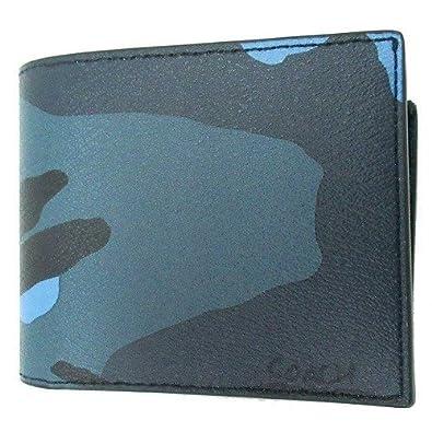 22c0bea47a15 Amazon   コーチ 財布 COACH アウトレット メンズ 3 in 1 カモ プリント IDウォレット 二つ折り財布 F32438 MRX    COACH(コーチ)   小銭入れ