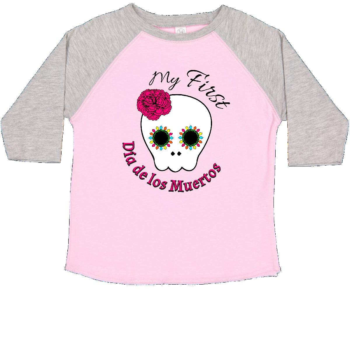inktastic My First Dia De Los Muertos Toddler T-Shirt