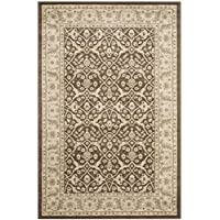 Safavieh Florenteen Collection FLR126-2512 Traditional Oriental Brown and Ivory Area Rug (4 x 6)