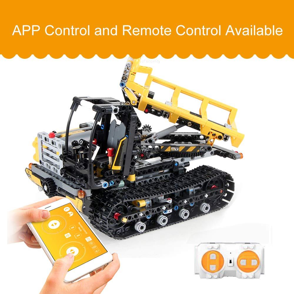 Cigooxm 774PCS Remote Control Building Blocks Car RC Track Building Blocks Educational Toys for Kids by Cigooxm (Image #4)