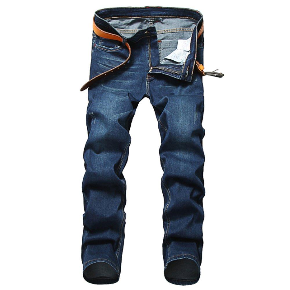 WEEN CHARM Men's Skinny Fit Jeans Stretch Slim Denim Jean