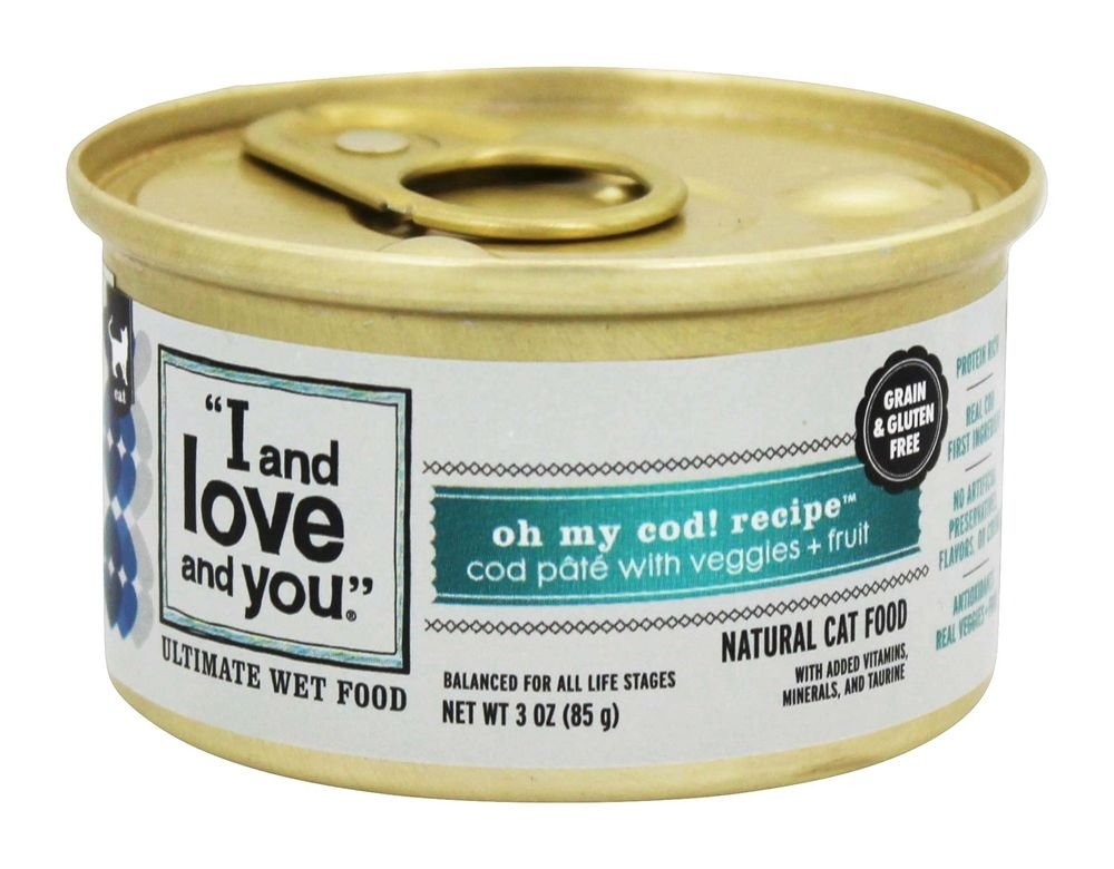 I&Love&You Cat Food Can On My Cod, 3 oz