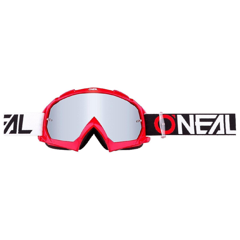 O'Neal B-10 Goggle Twoface Crossbrille Klar Motocross DH Downhill MX Anti-Fog Glas, 6024-21, Farbe Neongelb