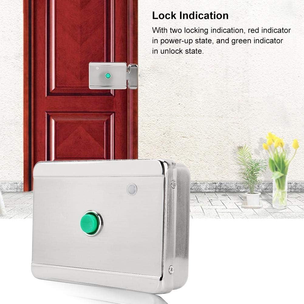 Metal Door Fireproof Door Wooden Door. Intelligent Motor Automatic Security Lock for Intelligent Community Security Door Tosuny DC12V Knob Magnetic Electromagnetic