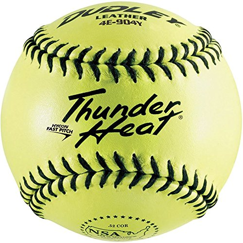 Dudley 12'' Thunder Heat NSA Leather Fastpitch Softball (DZ) by Douglas