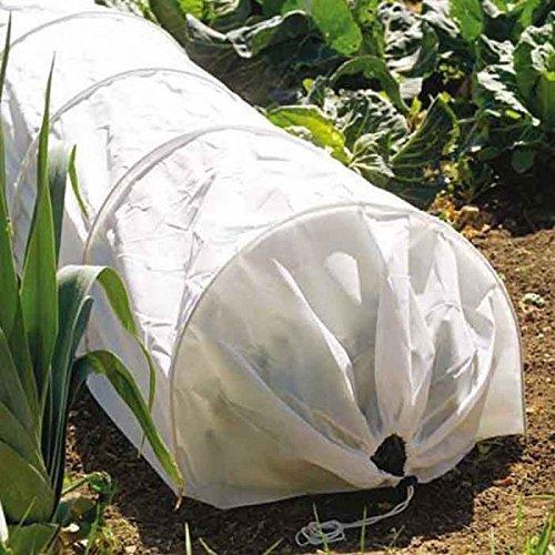 Garden Mile® Large 3m Fleece Garden plant Grow Tunnel Cloche Seedling Propogator Plant Cover Frost Protection (3m Fleece Grow Tunnel)