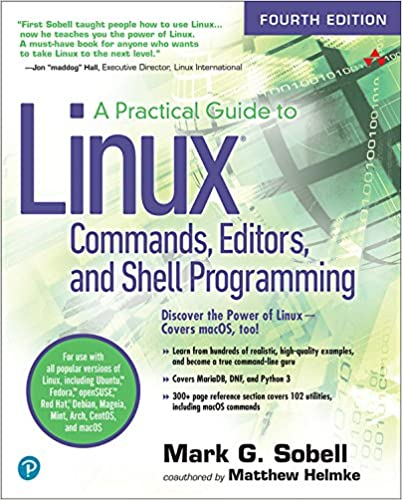 Amazon com: A Practical Guide to Linux Commands, Editors